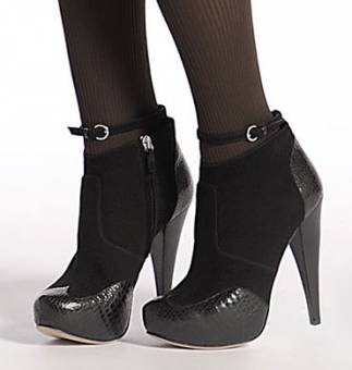 porque las botas se llevan altas también: