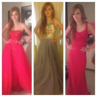 con los mejores vestidos