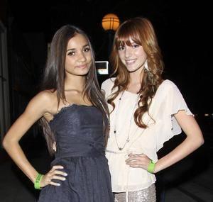 Bella Thorne (con Pia Mia)