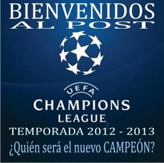 Champion League 2012-2013