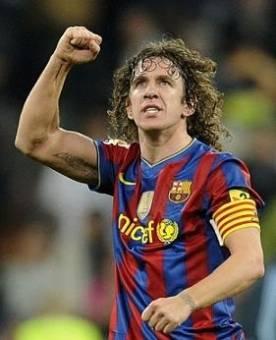 Carles Puyol-(Barcelona)