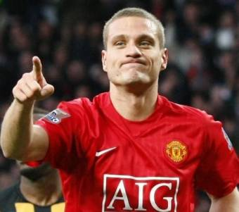 Nemanja Vidic-(Manchester United)