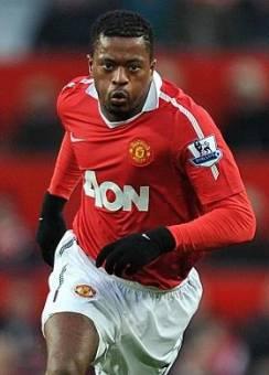 Patrice Evra-(Manchester United)