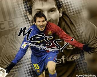 Lionel Messi-(Barcelona)