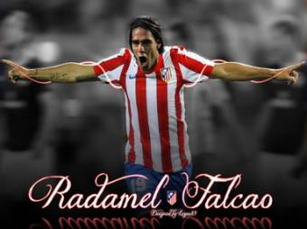 Radamel Falcao-(Atlético de Madrid)