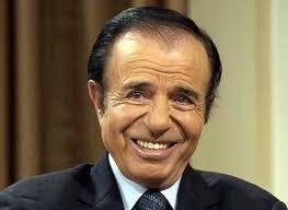 """Carlos Menem (Frente Para La """"Lealtad"""")"""
