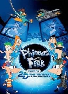 phineas y ferb en la 2D dimension