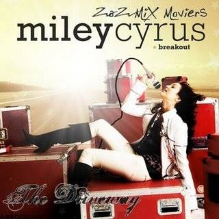 Miley Cyrus THE DRIVEWAY
