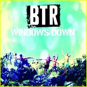 Big time rush Windows down