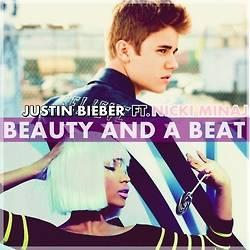 Justin Bieber and Nicki Minaj Beauty and beat