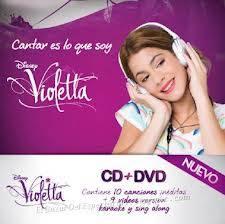 Cantar es lo que soy ...el cd de violetta