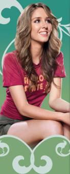 Marron: Representando al pelo marron, Esmee Denters