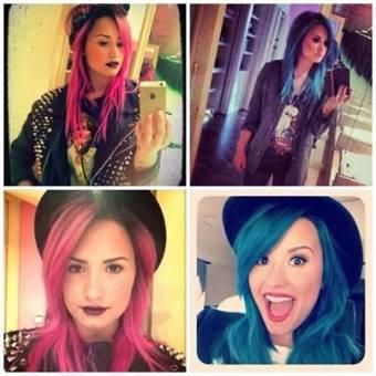 Que color de pelo le queda mejor a demi azul o rosado 877277 jpg