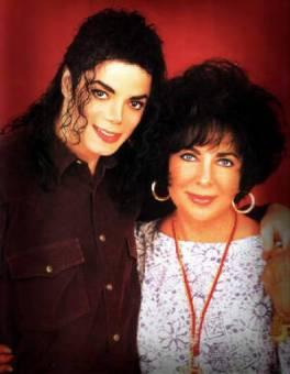Su gran amistad con Elizabeth Taylor ¬¬