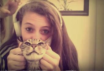 Porque ama a los animales como vicky