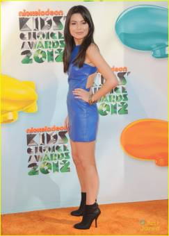 miranda cosgrove en los kid choice awards