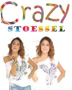 Crazy Stoessel Personalizado Con 2 Im�genes De Tini
