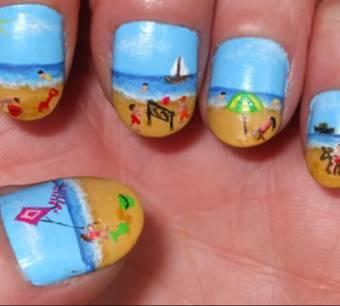 por tan hermoso que se pinta las uñas