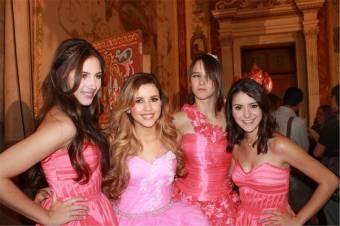 Fanny, Valentina, Renata y Tania