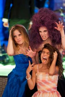 Natalia, Manzana y Leonora