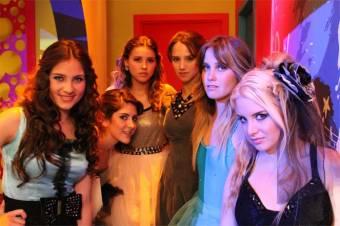 Fanny, Tania, Valentina, Renata, Natalia y Lula