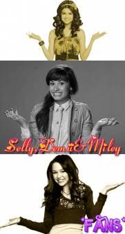 *Sele ,Miley &Demi Fans*