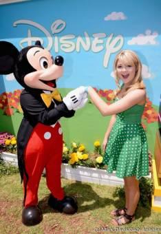 Por ser la fan 1ª de Mickey Mouse