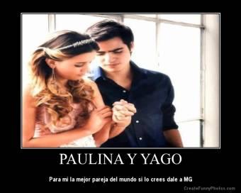 Yago Muñoz y Paulina Goto