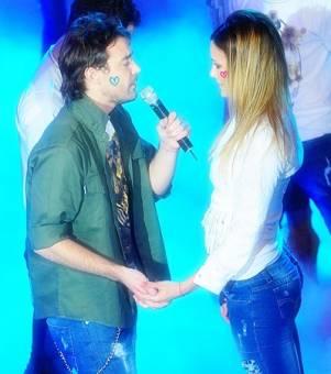 Paula Chaves y Pedro Alfonso