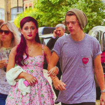 Harry y Ariana