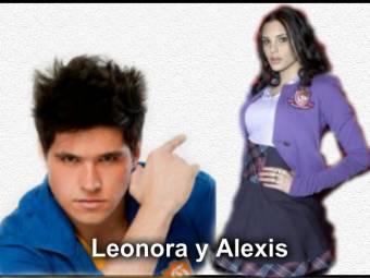 Leonora y Alexis (black team)