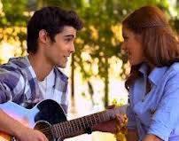 Tomás y Violetta.