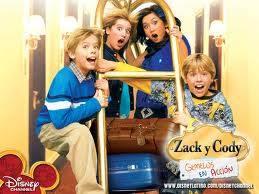 Zack y Cody gemelos en accion