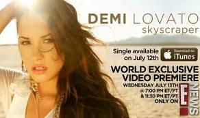 Demi Lovato-Sckyscraper
