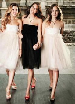 Valentina , Natalia y Leonora