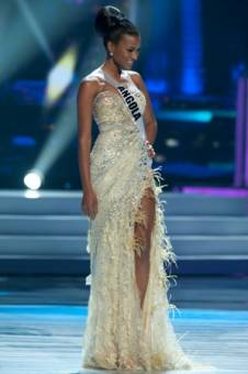 La hermosa  Miss universe 2011