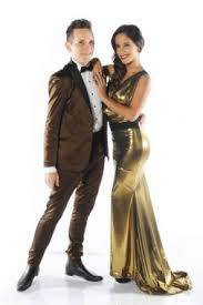 Diego Reinhold y Lourdes Sánchez