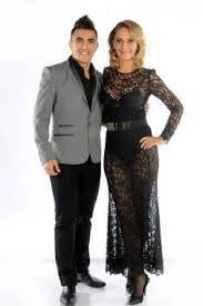 Evelyn Von Brocke y Fernando Bertona