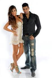 Mariana Antoniale y Cristian Ponce