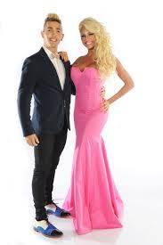 Victoria Xipolitakis y Cristian Falcon