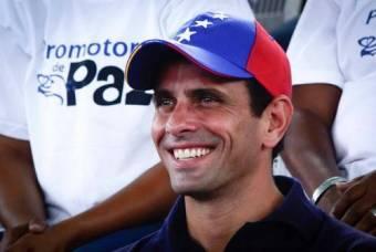 Candidato A La Eleccion Presidencial (MUD) Henrique Capriles Radonski