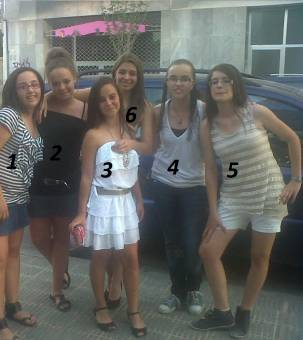 1, 2, 3, 4, 5, 6?