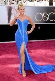 Nancy O'Dell. (Con este vestido se la ve a un Kilometro de distancia)