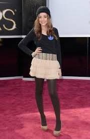 Sofía Alves. (¿Era consciente de que estaba en los Oscar?)