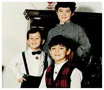 Jonas Brothers cuando pequeños