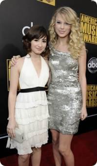 Demi Lovato y Taylor Swift.
