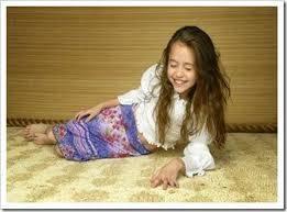 Miley Cyrus de pequeña
