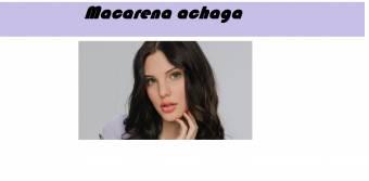 Macarena achaga (Leonora)