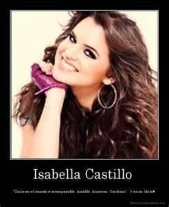 Isabella Castillo (Grachi)