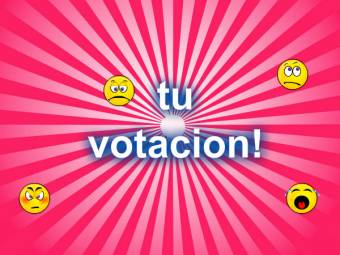 tu votacion siitio web!